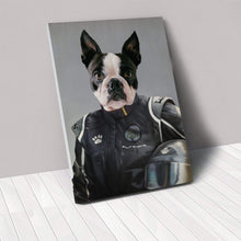 Load image into Gallery viewer, The Race Car Driver - Custom Pet Canvas