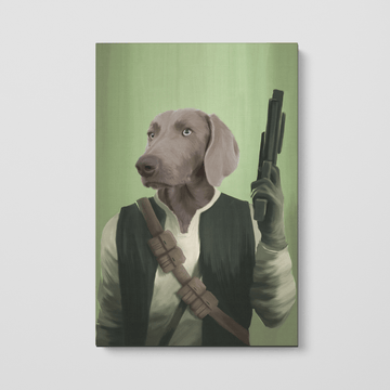 The Rebel - Custom Pet Canvas
