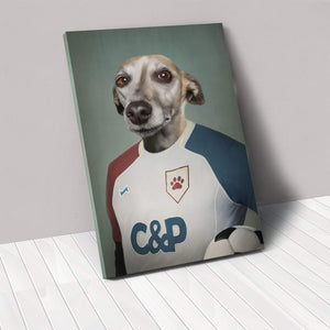 The Soccer Player - Custom Pet Canvas