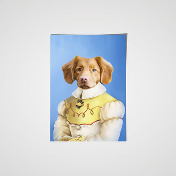 The Southern Belle - Custom Pet Poster