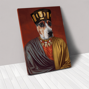 The African King - Custom Pet Canvas