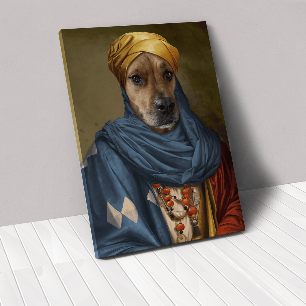 The African Prince - Custom Pet Canvas