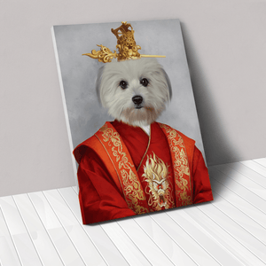 The Asian Emperor - Custom Pet Canvas