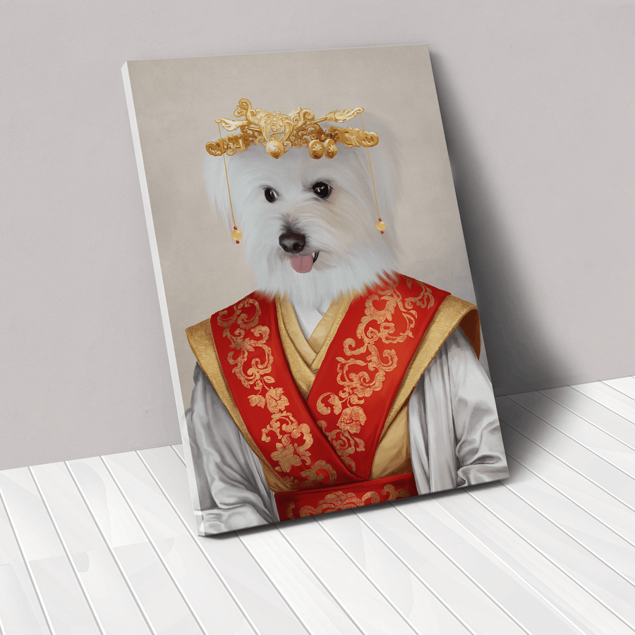 The Asian Empress - Custom Pet Canvas