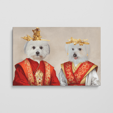 Load image into Gallery viewer, The Asian Rulers - Custom Pet Canvas