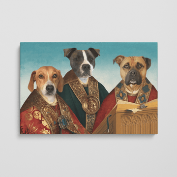 The Choir - Custom Pet Canvas