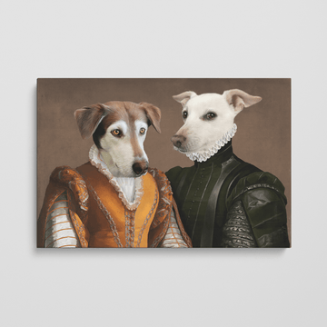 The Classy Couple - Custom Pet Canvas