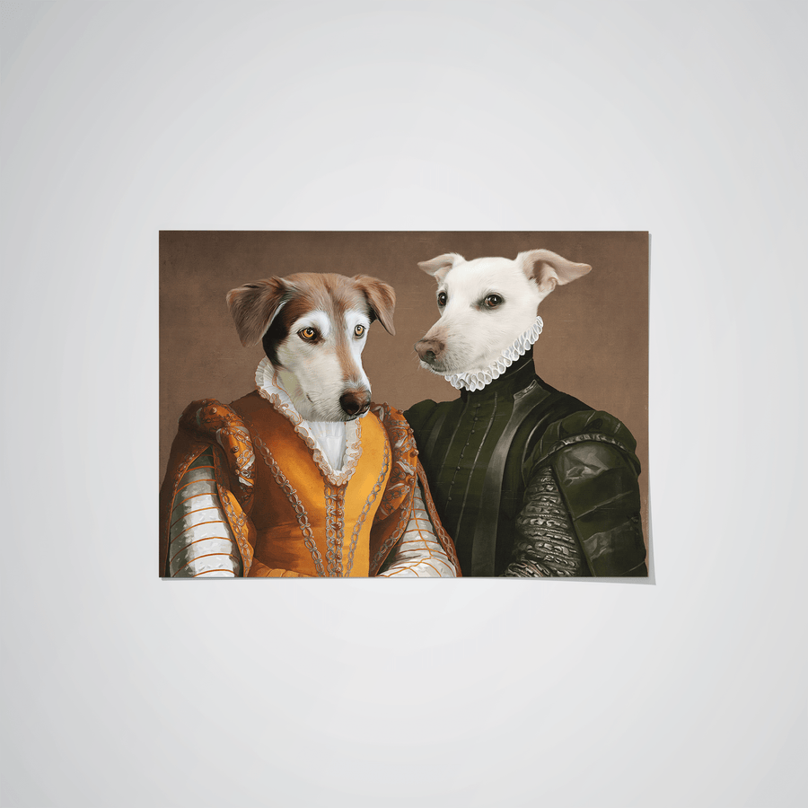 The Classy Couple - Custom Pet Poster