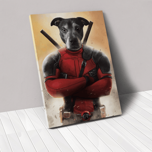 The Deadpawl - Custom Pet Canvas