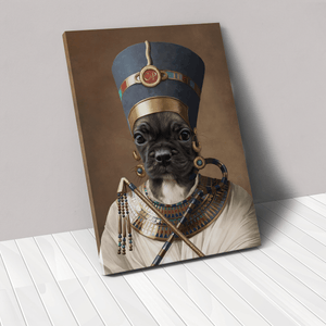 The Egyptian Queen - Custom Pet Canvas