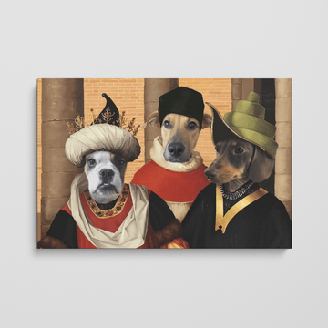 The Merchants - Custom Pet Canvas