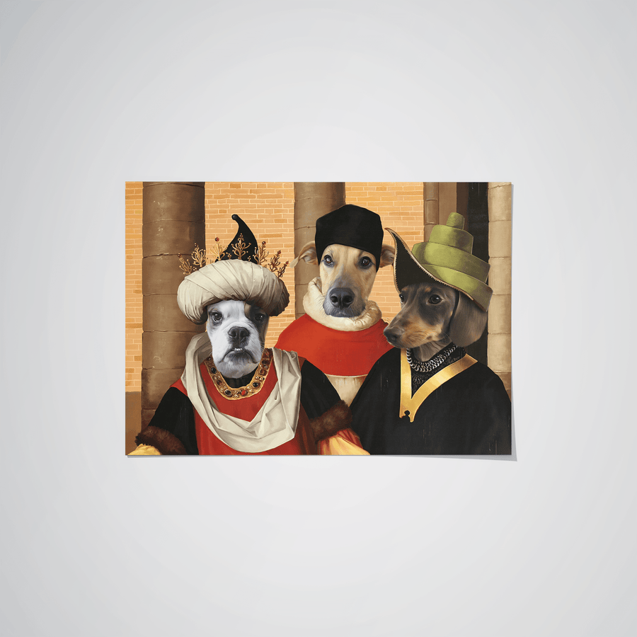 The Merchants - Custom Pet Poster
