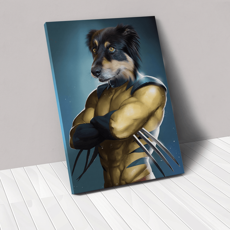 The Pawverine - Custom Pet Canvas