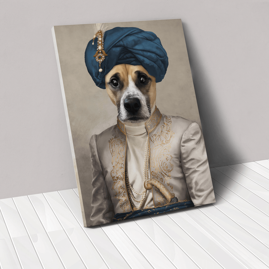 The Persian Prince - Custom Pet Canvas