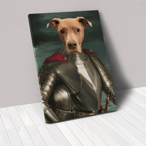 The Royal Knight - Custom Pet Canvas