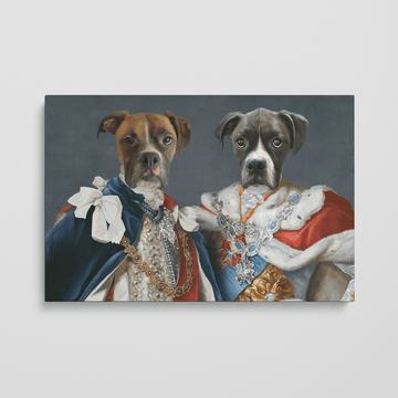 The Rulers - Custom Pet Canvas