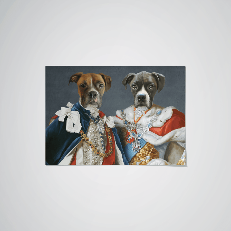 The Rulers - Custom Pet Poster
