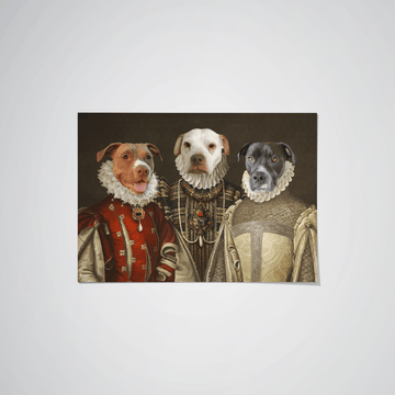 The Three Queens - Custom Pet Poster