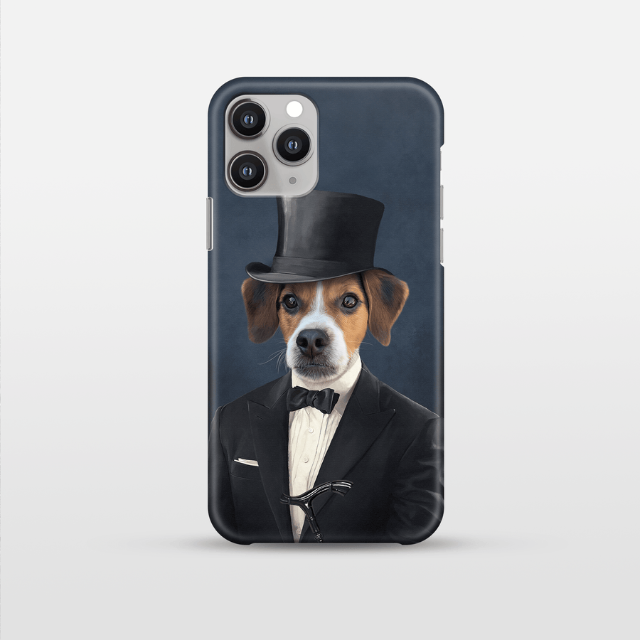 The Gentleman - Custom Pet Phone Case