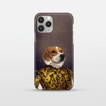 The Golden Queen - Custom Pet Phone Case
