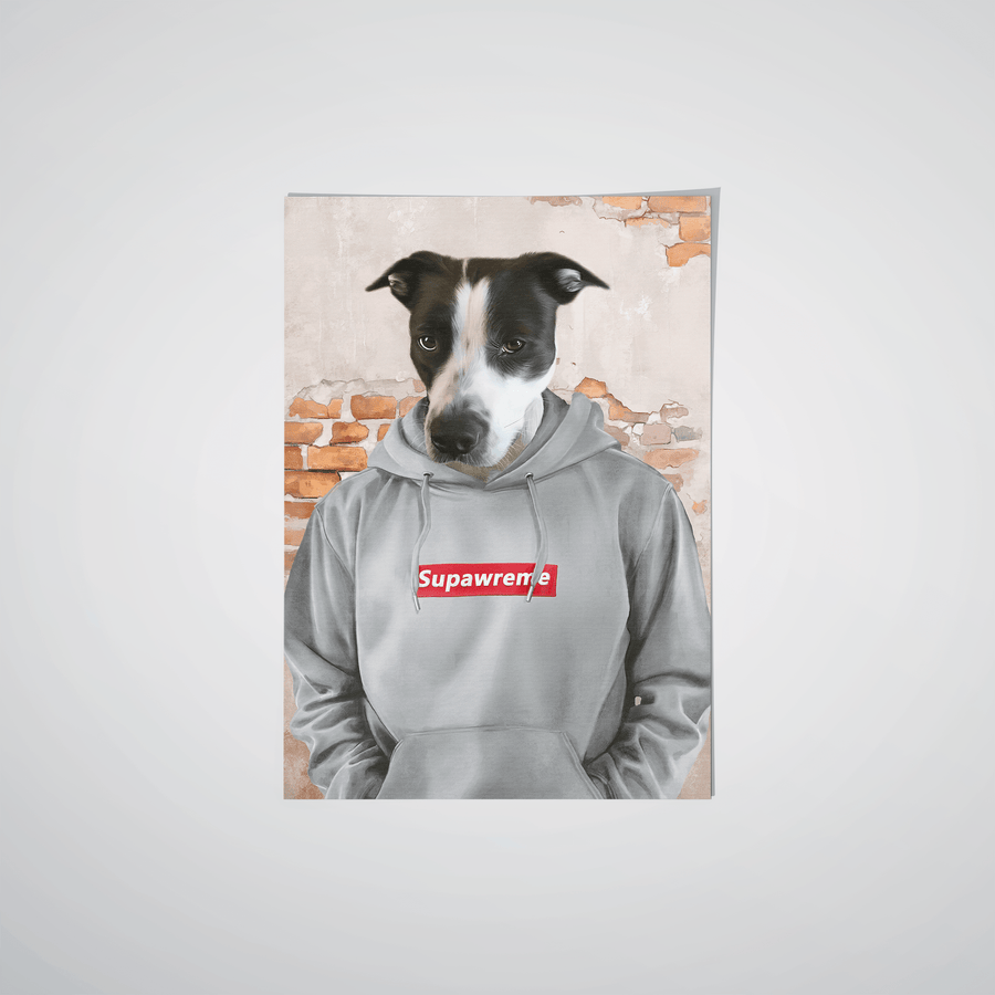 The Hypebeast - Custom Pet Poster