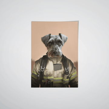 The Pilot - Custom Pet Poster