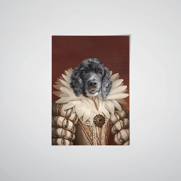The Queen - Custom Pet Poster