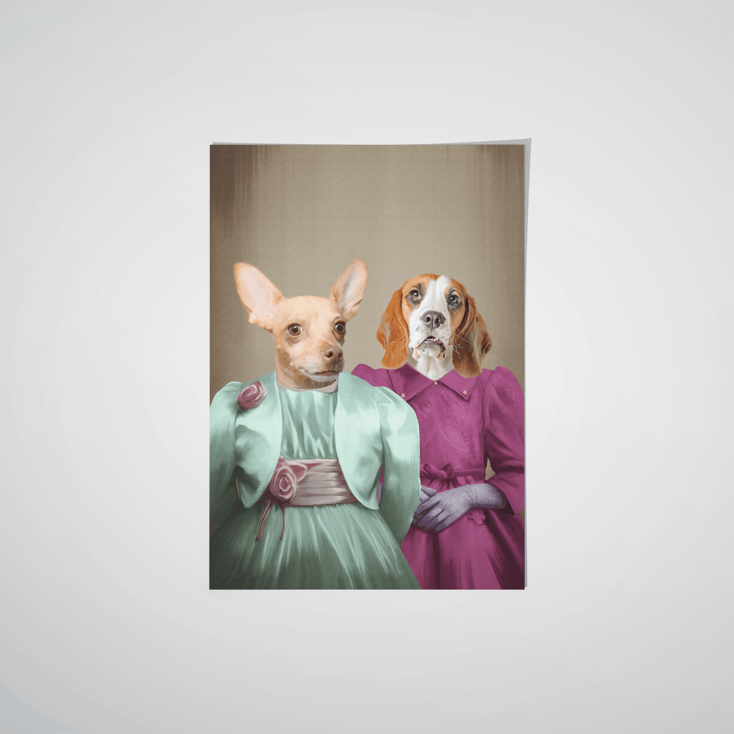 The Sisters - Custom Pet Poster