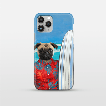 The Surfer - Custom Pet Phone Case