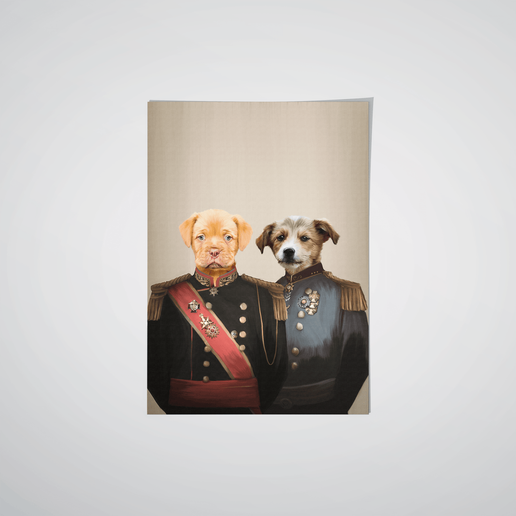 The War Heroes - Custom Pet Poster