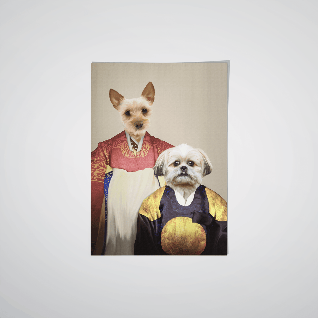 The Wise Pair - Custom Pet Poster