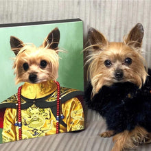 Load image into Gallery viewer, The Chinese Emperor - Custom Pet Canvas