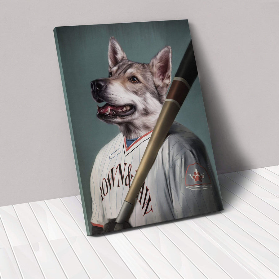 The Baseball Player - Custom Pet Canvas