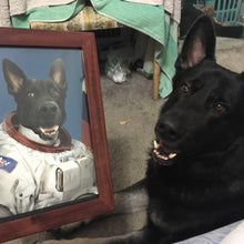 Load image into Gallery viewer, The Astronaut - Custom Pet Poster