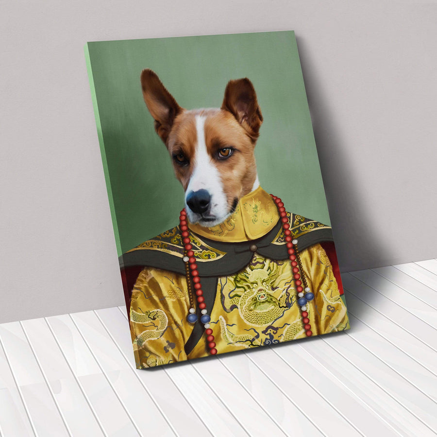 The Chinese Emperor - Custom Pet Canvas