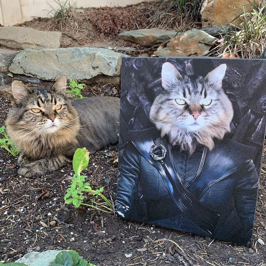 The Mother Of Dragons - Custom Pet Canvas