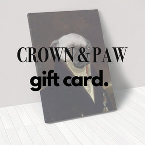 Crown & Paw Gift Card