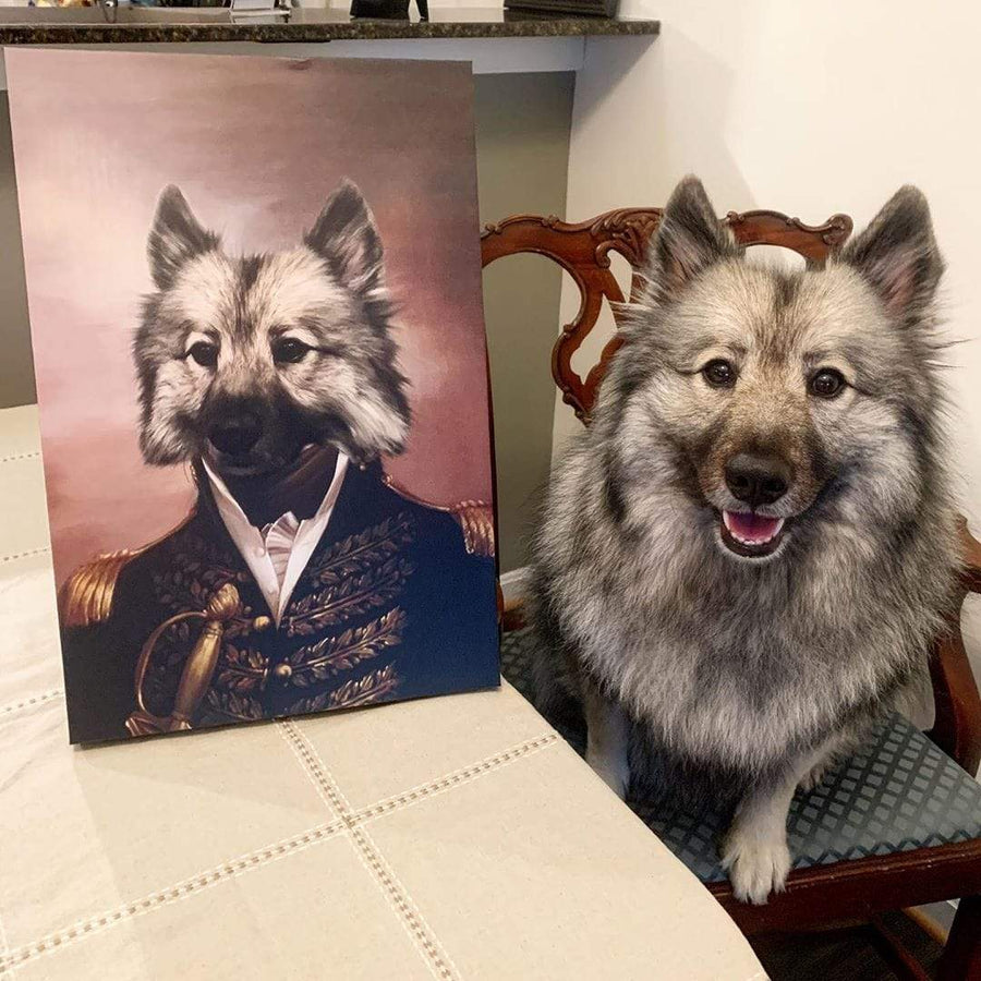 The General - Custom Pet Canvas