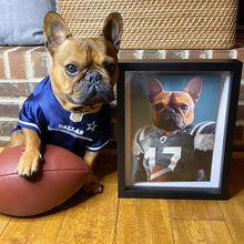 Load image into Gallery viewer, The Football Player - Custom Pet Canvas