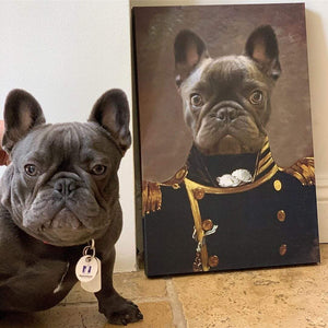 The Admiral - Custom Pet Canvas