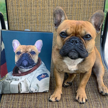 The Astronaut - Custom Pet Canvas