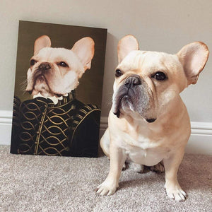 The Noble - Custom Pet Canvas