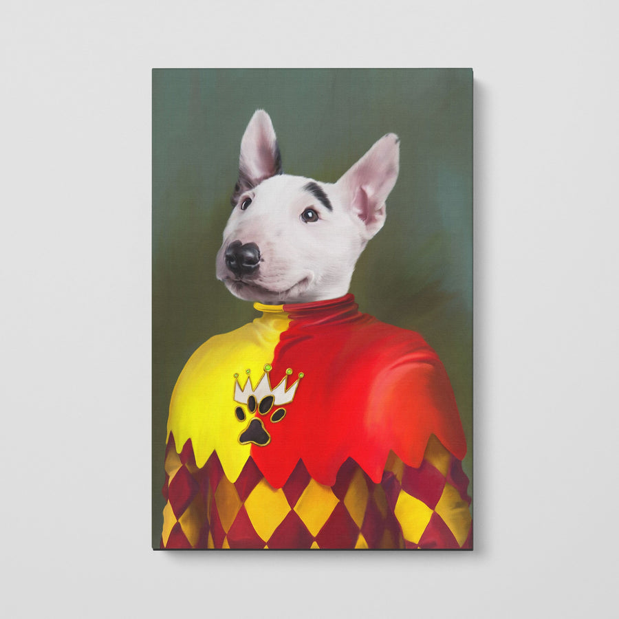 The Jester - Custom Pet Canvas