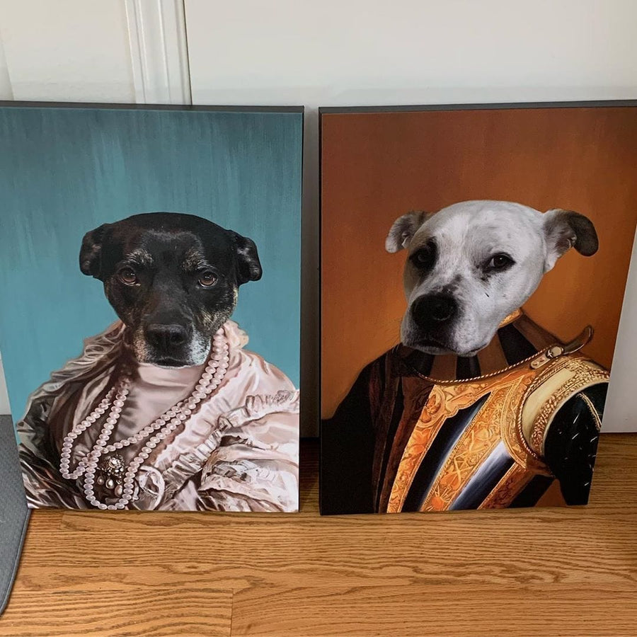 The Knight - Custom Pet Canvas