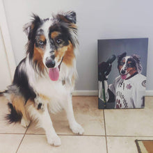 Load image into Gallery viewer, The Ice Hockey Player - Custom Pet Canvas