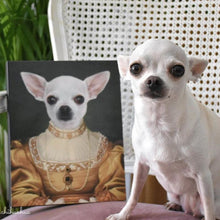 Load image into Gallery viewer, The Golden Girl - Custom Pet Canvas
