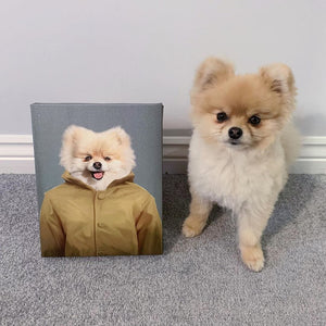 The Georgie - Custom Pet Canvas