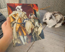Load image into Gallery viewer, The Royal Couple - Custom Pet Canvas