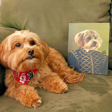 Load image into Gallery viewer, The Noble - Custom Pet Canvas