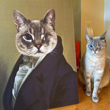 Load image into Gallery viewer, The Ambassador - Custom Pet Canvas